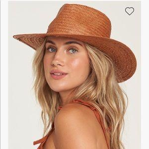 BNWOT Billabong Be You straw hat